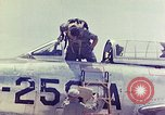 Image of Boeing B-47 Stratojet bomber Eglin Air Force Base Okaloosa County Florida USA, 1954, second 45 stock footage video 65675022545