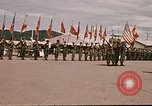 Image of Change of command Nha Trang Vietnam, 1968, second 25 stock footage video 65675022584