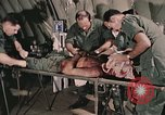 Image of wounded United States soldier Vietnam, 1969, second 20 stock footage video 65675022608