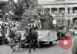 Image of Parade in Hawaii Hawaii USA, 1916, second 31 stock footage video 65675022619