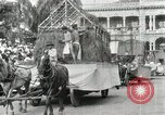 Image of Parade in Hawaii Hawaii USA, 1916, second 32 stock footage video 65675022619