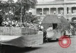 Image of Parade in Hawaii Hawaii USA, 1916, second 52 stock footage video 65675022619