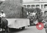 Image of Parade in Hawaii Hawaii USA, 1916, second 54 stock footage video 65675022619