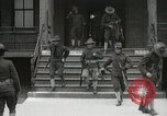 Image of Roll call at American Army training barracks United States USA, 1916, second 23 stock footage video 65675022627