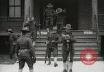 Image of Roll call at American Army training barracks United States USA, 1916, second 26 stock footage video 65675022627