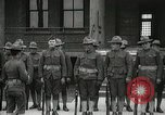 Image of Roll call at American Army training barracks United States USA, 1916, second 30 stock footage video 65675022627