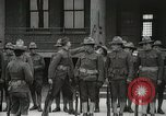 Image of Roll call at American Army training barracks United States USA, 1916, second 31 stock footage video 65675022627