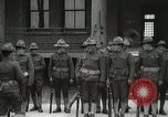 Image of Roll call at American Army training barracks United States USA, 1916, second 32 stock footage video 65675022627
