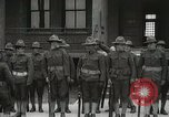 Image of Roll call at American Army training barracks United States USA, 1916, second 34 stock footage video 65675022627
