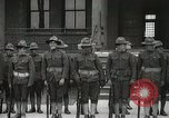 Image of Roll call at American Army training barracks United States USA, 1916, second 38 stock footage video 65675022627