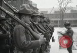 Image of Roll call at American Army training barracks United States USA, 1916, second 39 stock footage video 65675022627