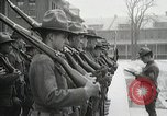 Image of Roll call at American Army training barracks United States USA, 1916, second 40 stock footage video 65675022627