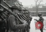 Image of Roll call at American Army training barracks United States USA, 1916, second 41 stock footage video 65675022627