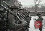 Image of Roll call at American Army training barracks United States USA, 1916, second 42 stock footage video 65675022627