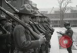 Image of Roll call at American Army training barracks United States USA, 1916, second 43 stock footage video 65675022627