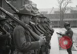 Image of Roll call at American Army training barracks United States USA, 1916, second 44 stock footage video 65675022627