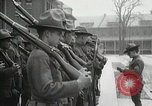 Image of Roll call at American Army training barracks United States USA, 1916, second 46 stock footage video 65675022627