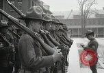 Image of Roll call at American Army training barracks United States USA, 1916, second 47 stock footage video 65675022627