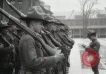 Image of Roll call at American Army training barracks United States USA, 1916, second 48 stock footage video 65675022627