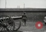Image of US Army soldier shows cannon to woman United States USA, 1916, second 2 stock footage video 65675022633