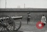 Image of US Army soldier shows cannon to woman United States USA, 1916, second 4 stock footage video 65675022633