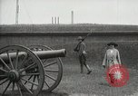 Image of US Army soldier shows cannon to woman United States USA, 1916, second 6 stock footage video 65675022633