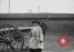 Image of US Army soldier shows cannon to woman United States USA, 1916, second 11 stock footage video 65675022633