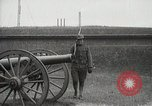 Image of US Army soldier shows cannon to woman United States USA, 1916, second 16 stock footage video 65675022633