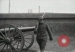 Image of US Army soldier shows cannon to woman United States USA, 1916, second 18 stock footage video 65675022633