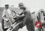 Image of US Army soldier shows cannon to woman United States USA, 1916, second 22 stock footage video 65675022633