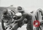 Image of US Army soldier shows cannon to woman United States USA, 1916, second 25 stock footage video 65675022633