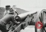 Image of US Army soldier shows cannon to woman United States USA, 1916, second 34 stock footage video 65675022633
