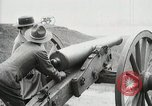 Image of US Army soldier shows cannon to woman United States USA, 1916, second 35 stock footage video 65675022633