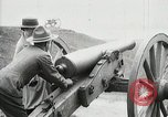 Image of US Army soldier shows cannon to woman United States USA, 1916, second 36 stock footage video 65675022633