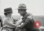 Image of US Army soldier shows cannon to woman United States USA, 1916, second 43 stock footage video 65675022633