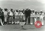 Image of Playing golf at  Kilauea National Park Hawaii USA, 1928, second 28 stock footage video 65675022675