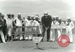 Image of Playing golf at  Kilauea National Park Hawaii USA, 1928, second 30 stock footage video 65675022675