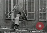 Image of French people dig in rubble Aix-en-Provence France, 1944, second 3 stock footage video 65675022698
