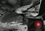 Image of French people dig in rubble Aix-en-Provence France, 1944, second 42 stock footage video 65675022698
