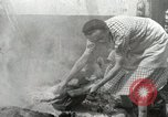 Image of French people dig in rubble Aix-en-Provence France, 1944, second 58 stock footage video 65675022698