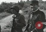 Image of Two German prisoners detained Aix-en-Provence France, 1944, second 30 stock footage video 65675022700