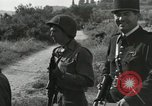 Image of Two German prisoners detained Aix-en-Provence France, 1944, second 33 stock footage video 65675022700