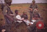 Image of 2nd Battalion of 173rd Airborne Brigade Combat Team Vietnam, 1965, second 12 stock footage video 65675022705
