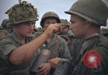 Image of 2nd Battalion of 173rd Airborne Brigade Combat Team Vietnam, 1965, second 20 stock footage video 65675022705