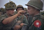 Image of 2nd Battalion of 173rd Airborne Brigade Combat Team Vietnam, 1965, second 21 stock footage video 65675022705