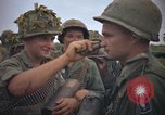 Image of 2nd Battalion of 173rd Airborne Brigade Combat Team Vietnam, 1965, second 22 stock footage video 65675022705