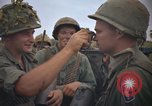 Image of 2nd Battalion of 173rd Airborne Brigade Combat Team Vietnam, 1965, second 24 stock footage video 65675022705
