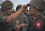 Image of 2nd Battalion of 173rd Airborne Brigade Combat Team Vietnam, 1965, second 25 stock footage video 65675022705