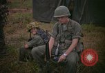 Image of 2nd Battalion of 173rd Airborne Brigade Combat Team Vietnam, 1965, second 41 stock footage video 65675022705