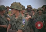Image of 2nd Battalion of 173rd Airborne Brigade Combat Team Vietnam, 1965, second 56 stock footage video 65675022705